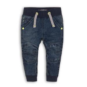 DIRKJE BABYKLEDING jongens jogjeans blue jeans smile if you dare