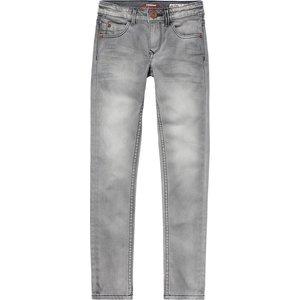 VINGINO meisjes bettine spijkerbroek dark grey vintage