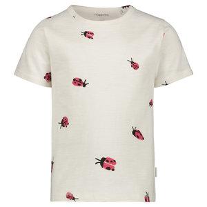 NOPPIES meisjes t-shirt whisper white cotati