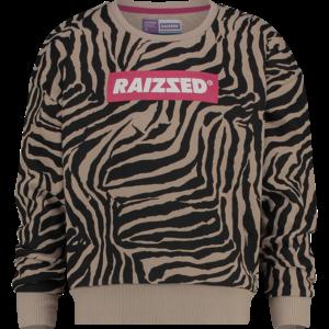 RAIZZED meisjes trui zebra aop nairobi