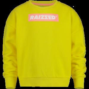 RAIZZED meisjes trui bright yellow nairobi