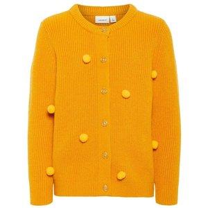 NAME IT meisjes vest golden orange