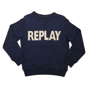 REPLAY jongens trui navy