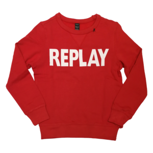 REPLAY jongens trui red