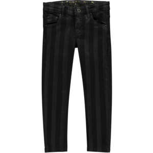 LEVV meisjes broek mid grey stripe dila