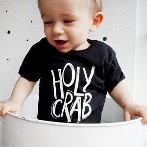 YOUR WISHES jongens t-shirt holy crab black
