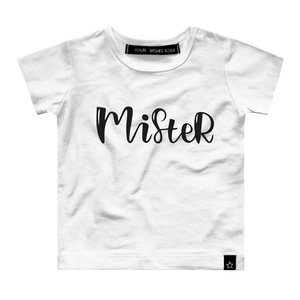 YOUR WISHES jongens t-shirt mister white