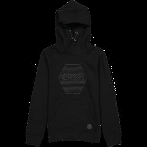 CRUSH DENIM jongens hoodie black christiano