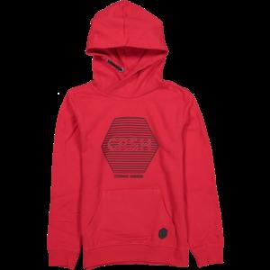 CRUSH DENIM jongens hoodie red christiano