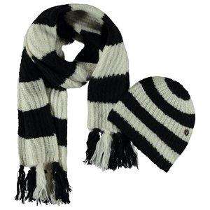LIKE FLO meisjes muts en sjaal black