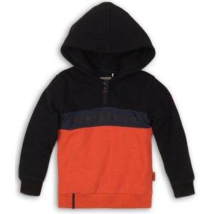 KOKO NOKO jongens trui navy + faded orange