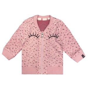BEEBIELOVE meisjes vest pink nos
