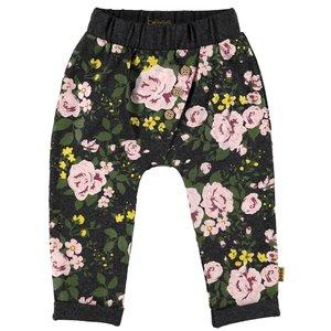 B.E.S.S. meisjes broek dessin roses