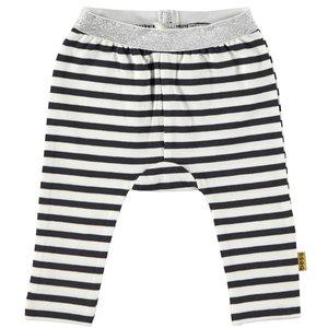 B.E.S.S. meisjes legging white striped