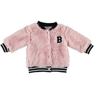 B.E.S.S. meisjes vest pink teddy