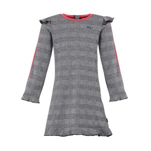 LITTLE MISS JULIETTE meisjes jurk grey