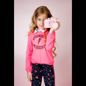LITTLE MISS JULIETTE meisjes trui pink