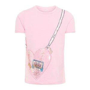 NAME IT meisjes t-shirt prism pink