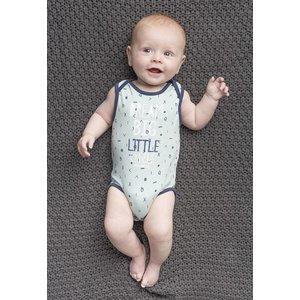 Quapi little nathan bodysuit dusty mint sketch nos
