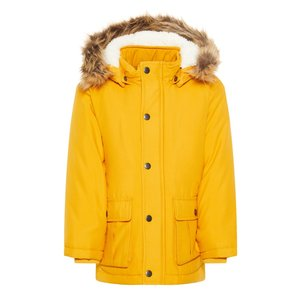 NAME IT jongens jas golden orange