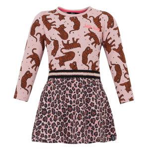 BEEBIELOVE meisjes jurk pink