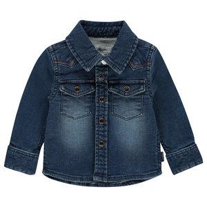 NOPPIES jongens spijkerblouse medium blue wash amerillo