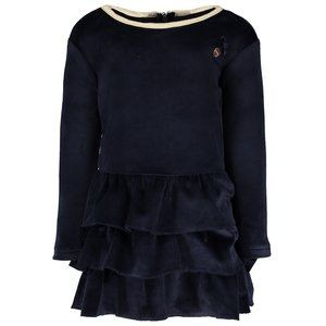 LE CHIC meisjes jurk blue navy