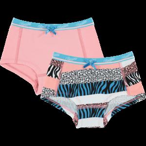 VINGINO meisjes 2-pack hipster cosmo pink zebra