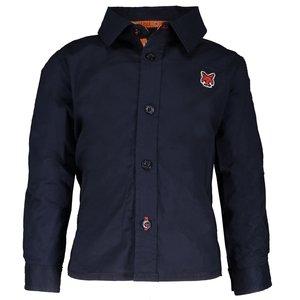 LCEE kidswear jongens blouse blue navy