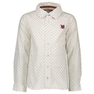 LCEE kidswear jongens overhemd off white