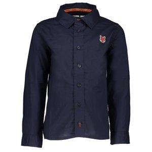 LCEE kidswear jongens overhemd blue navy