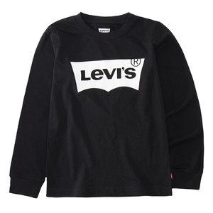 LEVI'S jongens longsleeve black/white