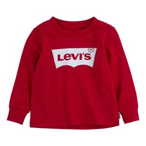 LEVI'S jongens longsleeve super red
