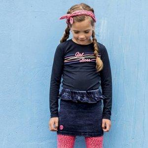 B.NOSY meisjes rok ink blue denim