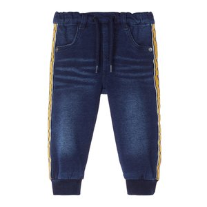 NAME IT jongens jogjeans dark blue denim