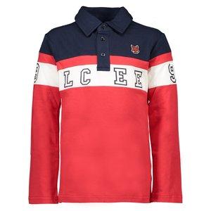 LCEE kidswear jongens longsleeve polo gilead red