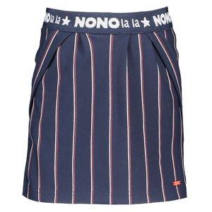 Nono meisjes rok navy blazer nody stripes