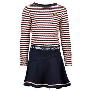 Nono meisjes rok snow white manu stripes