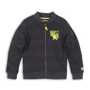 DJ DUTCHJEANS jongens vest faded navy + navy stripe rock it dj dutchjeans