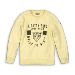 DJ DUTCHJEANS jongens trui faded neon yellow dangerous
