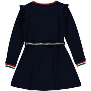 Quapi Quapi meisjes jurk navy talicia