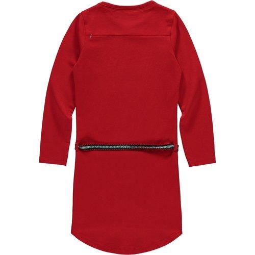 Quapi Quapi meisjes jurk lollipop red tamia 2