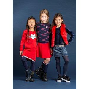 Quapi Quapi meisjes legging navy tjitske