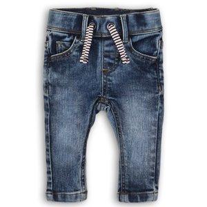 DIRKJE BABYKLEDING jongens jeans blue jeans so soft looking for you
