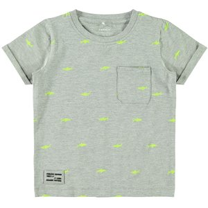 NAME IT jongens t-shirt grey melange
