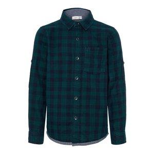 NAME IT jongens blouse green gables