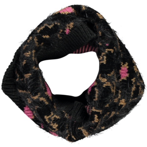 Quapi Quapi meisjes sjaal leopard grey trinity