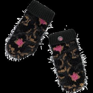 Quapi Quapi meisjes handschoenen leopard grey truus