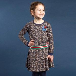 Quapi meisjes jurk leopard tacey