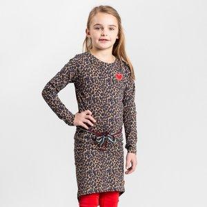 Quapi meisjes jurk leopard tamia 2